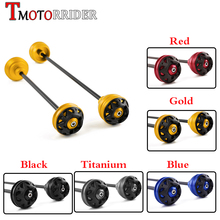 Front Rear Axle CNC Wheel Fork Cap Crash Slider Falling Protector Guard for BMW S1000R S1000RR S 1000 R RR HP 4