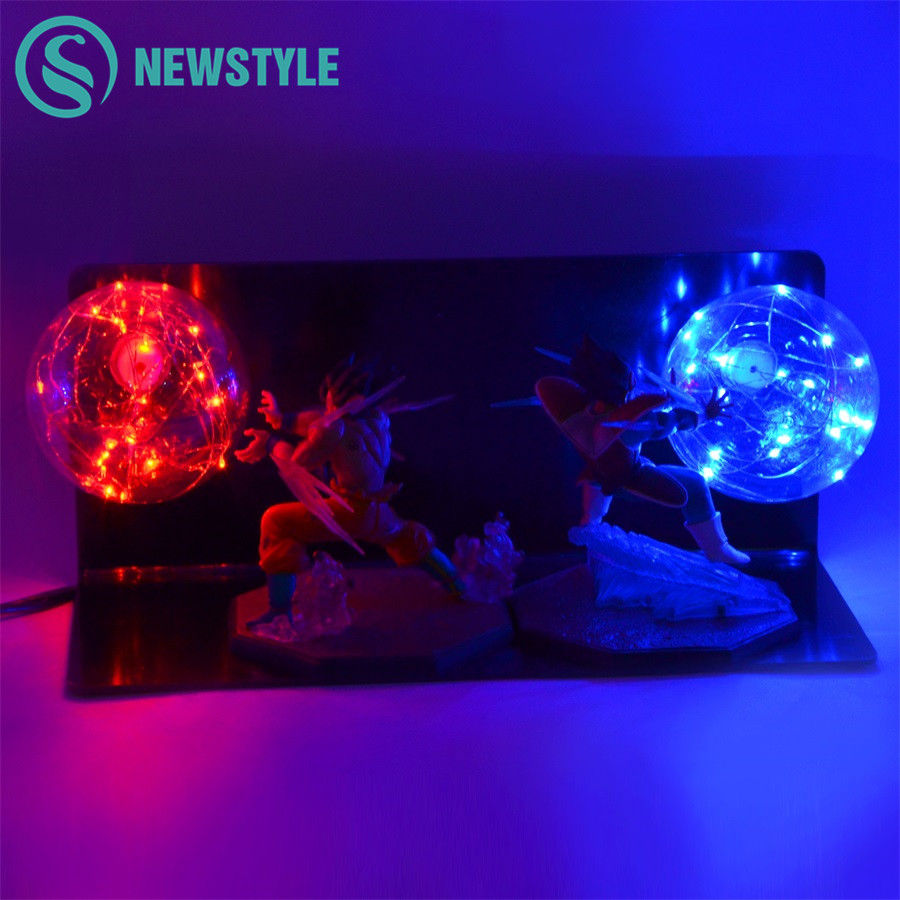 Dragon Ball Z Kids Toy Gift Action Figures DIY Anime Model Creative Bedroom Lamp Baby Dolls LED Night Light for Children Light 30 200pcs zomlings anime garbage trash pack action figures 2 3 cm soft rubber model toy kids playing animal dolls christmas gift