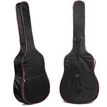 Высокое качество 41 дюймов Классическая Акустическая гитара сумка 5 мм унисекс Наплечные ремни Gitar сумки бас сумки