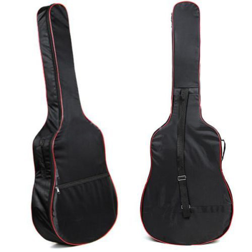 2016 High Quality 41 Inch Classic Acoustic Guitar Carry Bag 5mm Unisex Shoulder Straps Gitar Bags Bass Bags