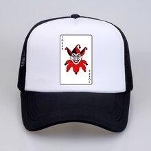Joker casual mens hat Vintage Movie funny hip hop Baseball Caps Poker The Cartoon unisex Printed Letter snapback hats