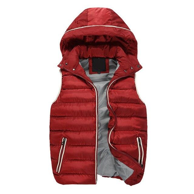 2016 autumn and winter Man vest Young fashionable eiderdown cotton vest