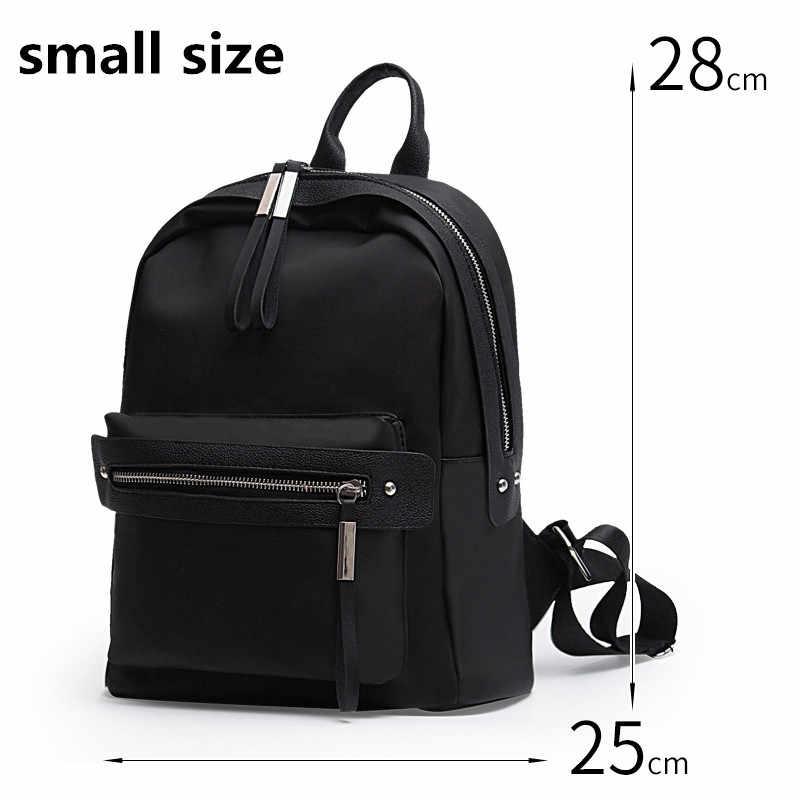 Изысканный Новая мода женский рюкзак Оксфорд холст Школьные ранцы для отдыха рюкзак Для женщин дети Mochila Escolar feminina zoqw wxf008