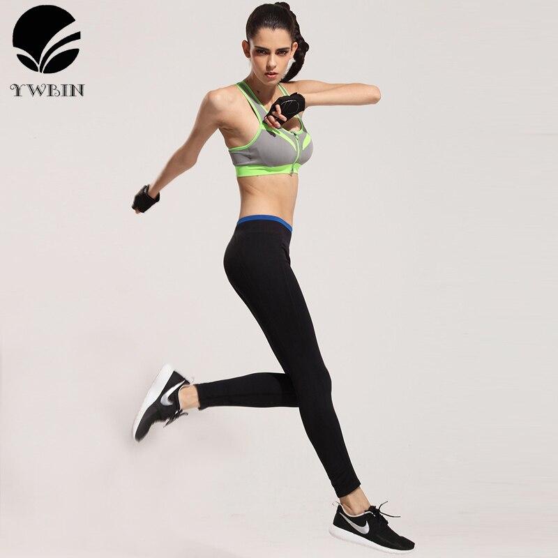 Prix pour YWBIN Marque professionnel Étiré pantalon Femmes Pantalon de Sport Gym Haute Élastique yoga Collants Sport Leggings Remise En Forme De Yoga Pantalon