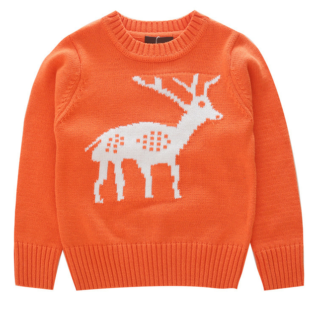children christmas sweater boys girls sweaters deer kids o neck baby pullovers warm baby clothes
