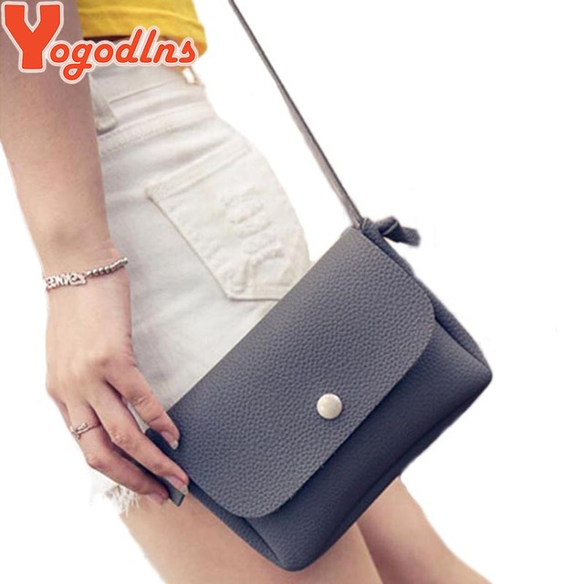 2017 Women Leather Handbags Famous Brand Women Small Messenger Bags Female Crossbody Shoulder Bags Clutch Purse Bag