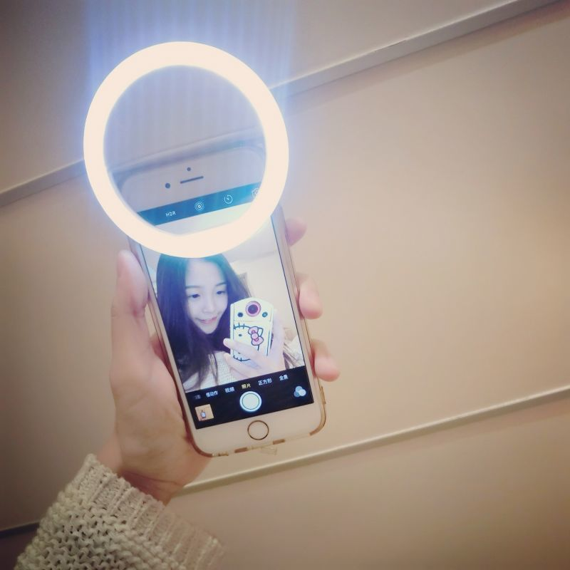 buy universal luxury smart phone led flash light up selfie luminous phone ring. Black Bedroom Furniture Sets. Home Design Ideas