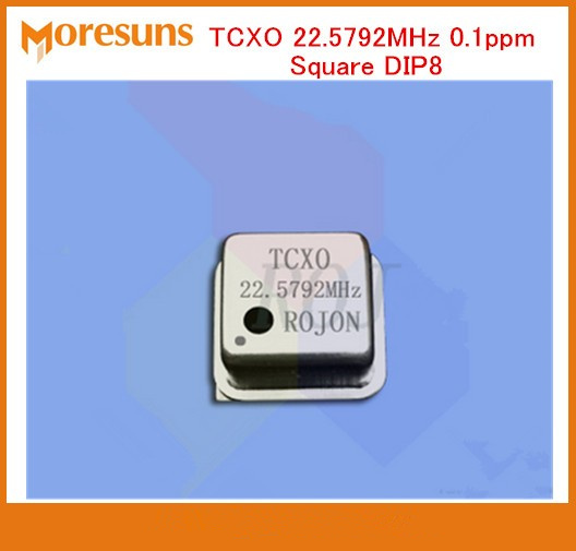 Fast Free Ship Sound DIY fihi temperature-compensation crystal oscillator TCXO 22.5792MHz 0.1ppm square DIP8