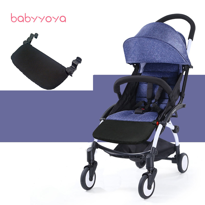 Stroller Accessories for Babyzen Yoyo Yoya Babyyoya Baby Throne Foot Rest Baby time Infant Carriages 16Cm Feet Extension Pram baby stroller accessories for yoya yoyo babyzen sun shade cover seat infant pram cushion pad sunshade canopy buggies for babies