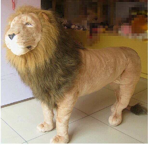 super huge plush lion toy big simulation lion doll king lion toy birthday gift lion doll about 110X80cm simulation animal huge tiger doll about 110x 70cm plush toy high quality birthday gift christmas gift t3442