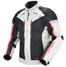 GHOST RACING Autumn Winter Motorcycle Jacket Men Waterproof Windproof Riding Racing Motorbike Clothing Protective Gear
