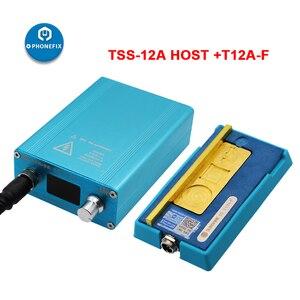 Image 5 - SS T12Aสถานีบัดกรีเมนบอร์ดLayered Face ID FixสำหรับiPhone 6 7 8 X XS 11Pro Max CPU NANDความร้อนdisassemblyแพลตฟอร์ม