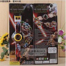Мода светодиодный цифровой 20 проектор 20 видов стилей мультфильм смотреть Звездные войны Принцесса, Человек-паук Мстители детские наручные часы G