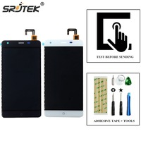 For Ulefone Power LCD Display With Touch Screen Digitizer Glass Sensor Assembly 5 5 MTK6753 Smartphone