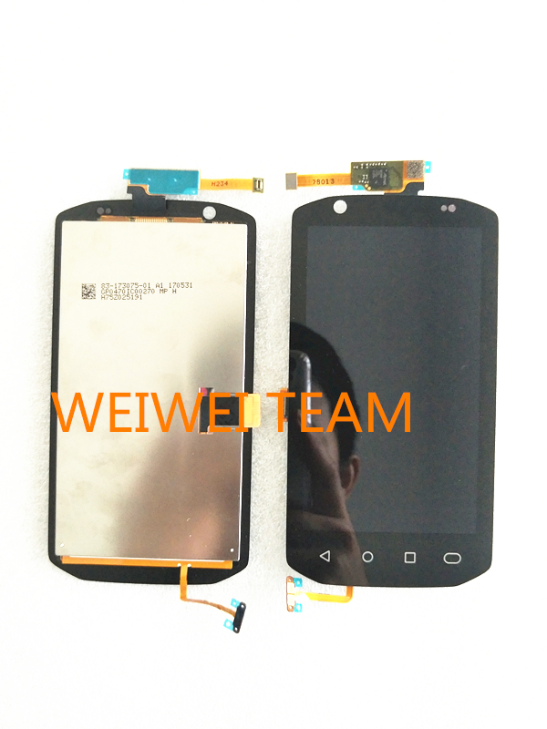 LCD Display with Touch screen Digitizer for Symbol TC70 TC75 PDA LCD screen Touch panel Assembly