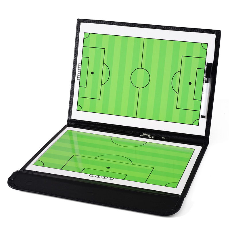 Foldable Magnetic Leather Football Tactic Board (8)