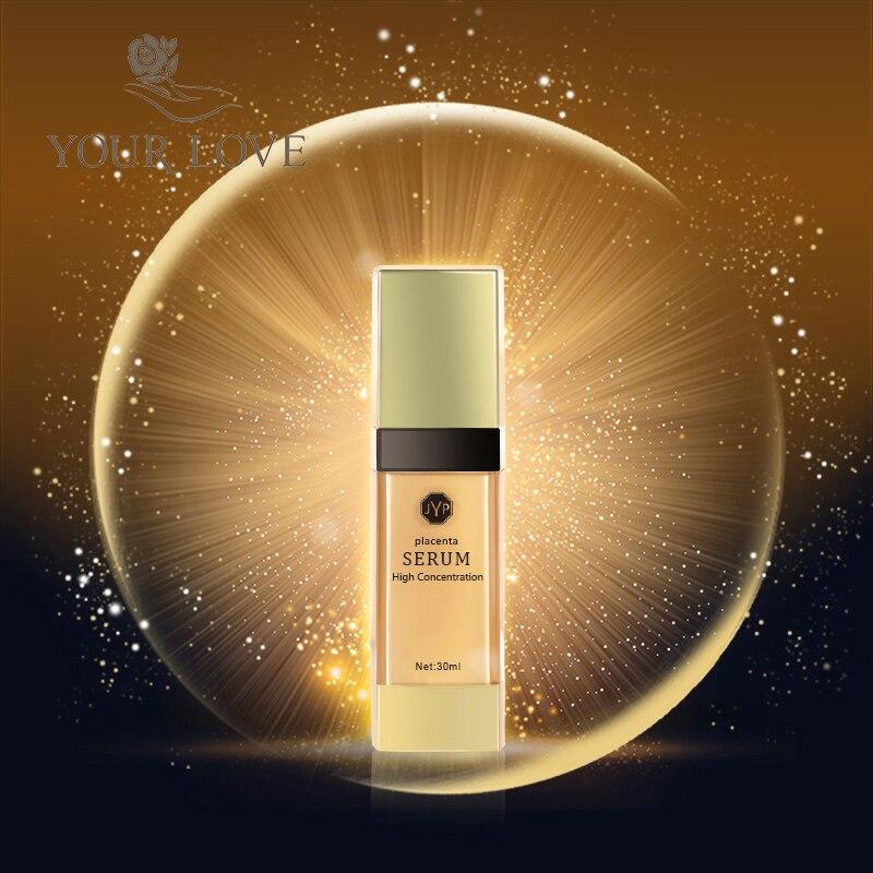 100% Nova Zelândia Ovinos Placenta Alta Concentração gold Serum Reduz linhas e rugas vitamina soro hidratante regeneração da pele