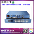 Processador de vídeo SIVISION BVP5000 suporte 2560*1024 pixels RGB full color DVI VGA porta de saída ao ar livre levou parede de vídeo