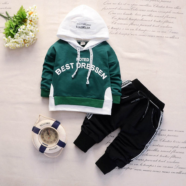 fe87ee7e2 BibiCola baby boys clothing sets autumn infant tracksuit outfits ...