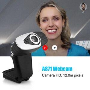 Image 5 - HXSJ USB 2.0 Digital Video Webcamera Webcam Web Câmera HD Pixels Com a Absorção de Som Microfone Mic Para Desktop PC Lap