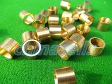 400pcs billiards snooker copper ferrule Brass Snooker Pool Cue ferrules cue Repair tool accessories 9mm 9.5mm 10mm