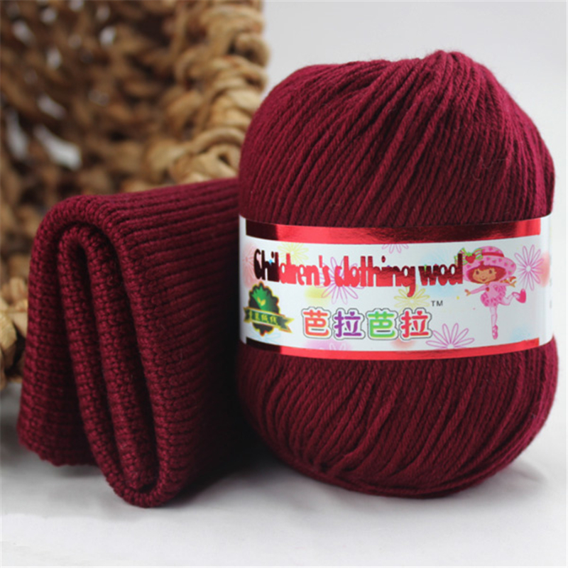 Baby Silk Cashmere Yarn For Hand Knitting Top Quality Crochet Hook Protein Milk Yarn Threads Lanas Para Tejer Laine A Tricoter