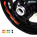 8 X CUSTOM INNER RIM DECALS WHEEL Reflective STICKERS STRIPES FIT HONDA VFR