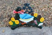 Cast Iron Duck Hose Pipe Reel Rope Holder Vintage Garden Hose Hanger Yard Patio Lawn Wall