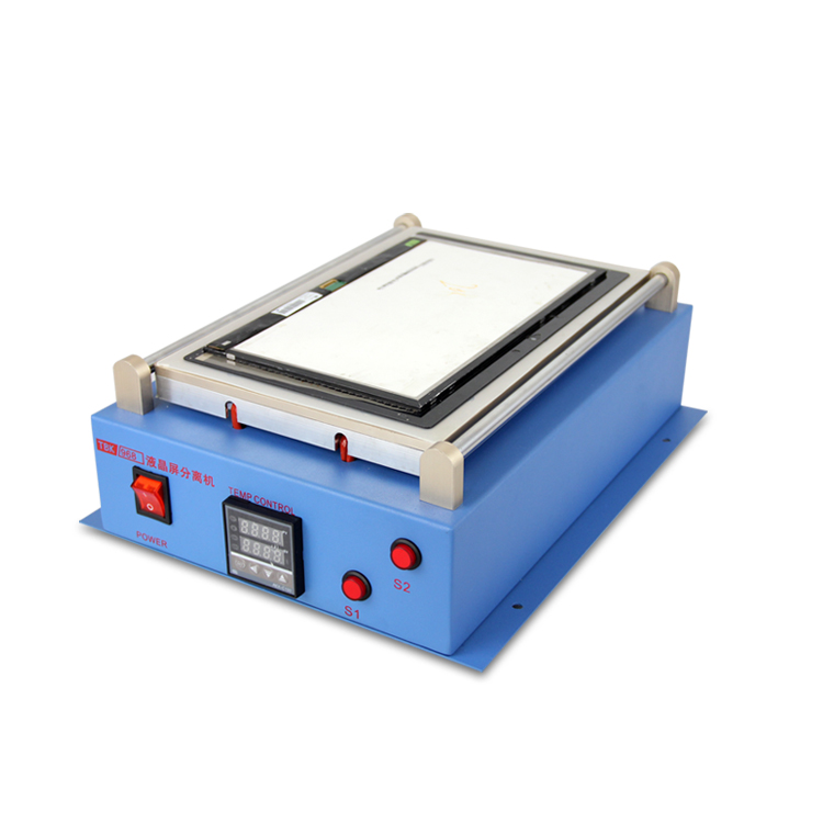 TBK 14 Inch Vacuum LCD separator Machine with Built-in Pump, 110V/220V 2sets lot lcd separator machine 950 v 3 220v 110v with built in air pump free txa to europe