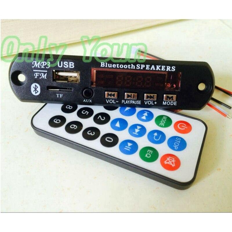Tragbares Audio & Video Mp3-player Aipinchun Diy 12 V Bluetooth Audio Receiver Mp3 Decoder Board Flac/wav/wma/mp3 Modul Player Mit Tf Slot Unterstützung U Festplatte Aux Fm QualitäT Und QuantitäT Gesichert