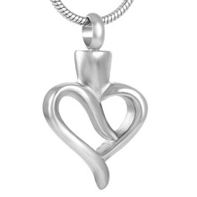 Hollow Heart Urn Necklace