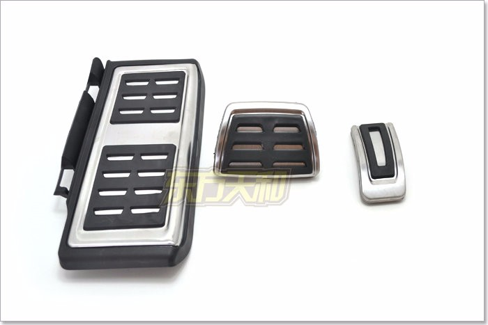 FOR VW LHD Golf 7 MK7 VII Stainless Steel Automatic AT MT Pedal