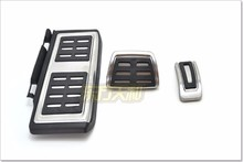 FOR VW LHD Golf 7 MK7 VII Stainless Steel Automatic AT MT Pedal oe style stainless steel manual pedal set for vw golf mk7