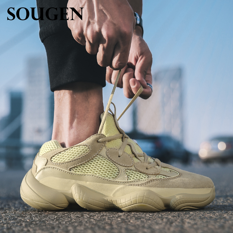 SOUGEN Hiking Shoes Plus Size 14  Climbing Shoes Dad SneakesSport Mountain Shoes Ultra-light Non-slip  Hunting Boots Krasovki