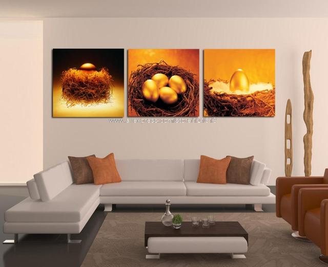 Free Shipping Hot Sell 3 Piece Wall Art Home Decor Modern Set Canvas Oil Painting Dining Room Paintings Landscape