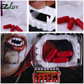 Halloween Vampire Funny Party Fancy Costume Fake Teeth Fangs with Blood Pills Party Supplies ZH01202