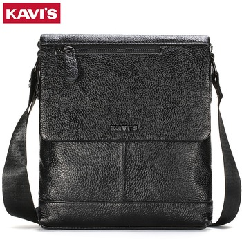 KAVIS Genuine leather Messenger Bag Men's Shoulder Bags small Business male man crossbody bags for men handbags leather bags bullcaptain new men bag genuine leather man brand crossbody shoulder bag small business bags male messenger leather bags
