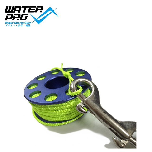 Water Pro 100ft Dive Reel For Technical Diving Wreck and Cave Reel