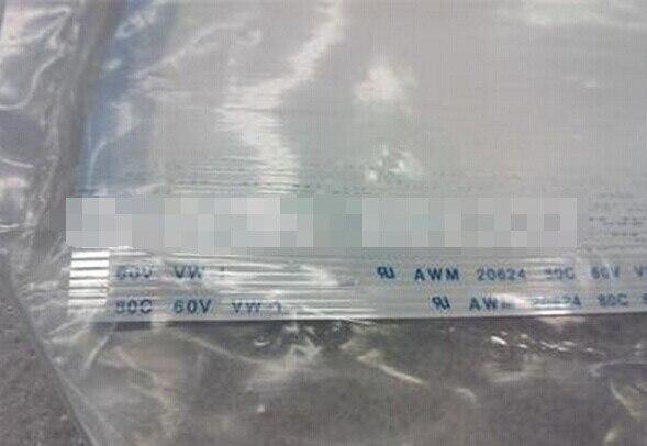 Free Shipping FFC Flex Ribbon Power Cable Type B AWM 20624 80C 60V 150mm 8 Pin 1.25mm Pitch