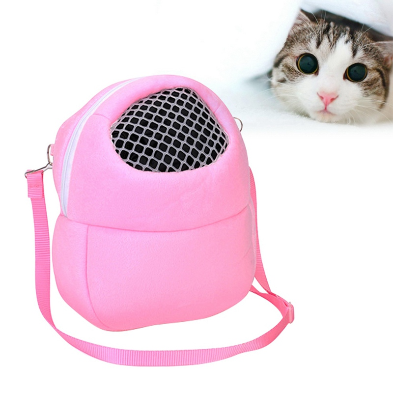 Portable Small Animals Carrier Warm Sleeping Travel Hanging Bag For Pets Rat Hamster Hedgehog Chinchilla Ferret Product Supplies #6