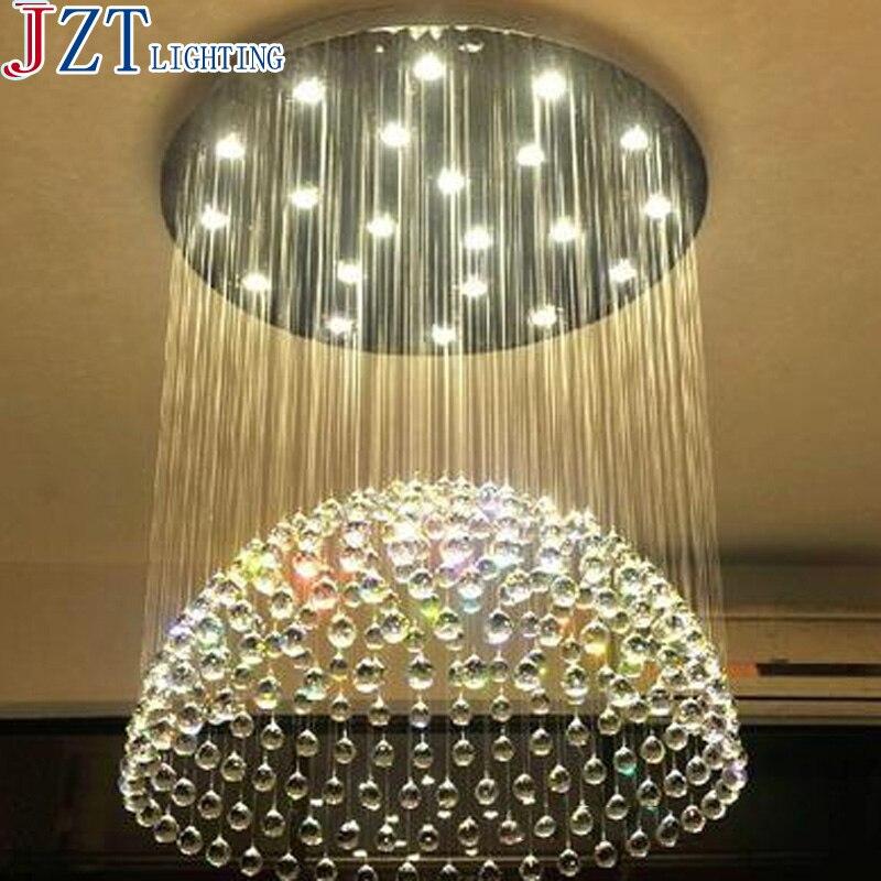 M Modern Minimalist Semi Sphere LED Crystal Light Dia 40/50/60/70/100cm For The Bedroom  ...
