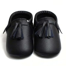 Pro Princess Toddler Infant Soft Sole PU Leather Shoes Tassels Baby Various Cute Moccasin PL8