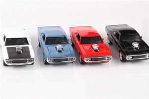 Image 3 - موديل سيارة دودج سريع وغاضب مع مجموعة صوت وخفيف سيارات لعب للأولاد هدية للأطفال 1/32 diecous & Toy المركبات