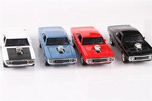 Image 3 - 1/32 Diecasts & Toy Vehicles the fast and the Furious Dodge Car Модель со звуком и светильник, коллекция, Автомобильные Игрушки для мальчиков, подарок для детей