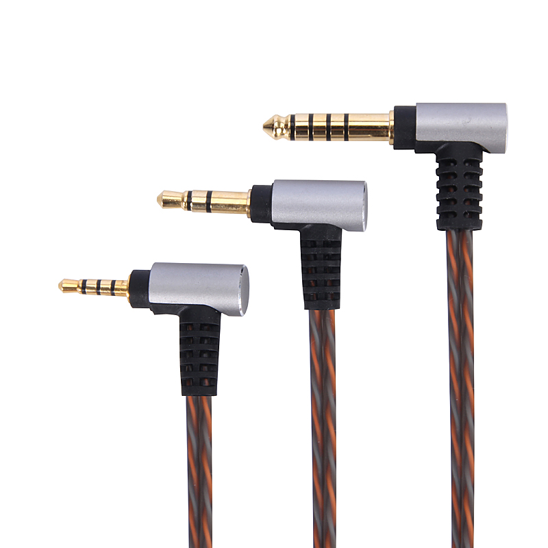 0.78mm 2pin CIEM Upgrade replace BALANCED silver OCC Audio <font><b>Cable</b></font> For gorilla ears/Noble Audio IN-EAR <font><b>HEADPHONES</b></font> image