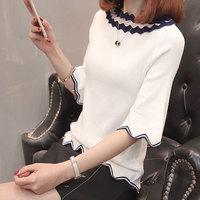 7498 3 Room 12 Ranked No 4 To Film A New Ice Silk Collar Sleeve Knit