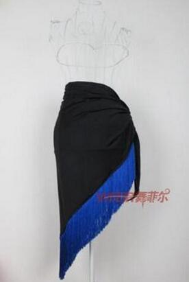 New 2017 Dance Dance Skirt Black Body Skirt Skirt Fringe Salsa Latin Dance Skirt