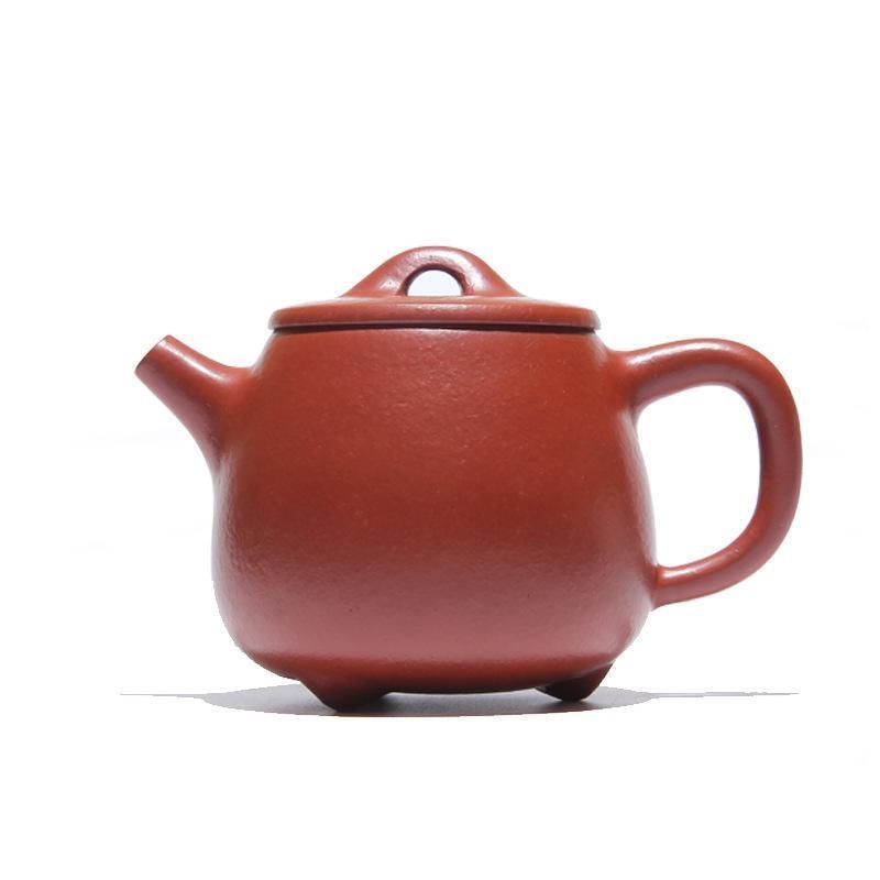 ONEICE Hand Made High Stone Scoop Pot Big Red Pouch Teapot Tea Set Teapots Author Ji Hong 230mlONEICE Hand Made High Stone Scoop Pot Big Red Pouch Teapot Tea Set Teapots Author Ji Hong 230ml