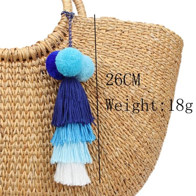 брелок для ключей naomy & zp с кисточкой брелок сумкой ювелирные фотография