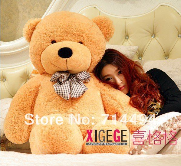 1.6m-High quality Low price Plush toys large size160cm / teddy bear embrace bear doll /lovers/christmas gifts birthday gift